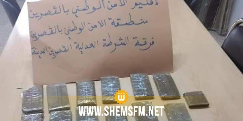 القصرين: مداهمة منزل مُرَوج مخدرات وحجز 19 صفيحة من 'الزطلة'