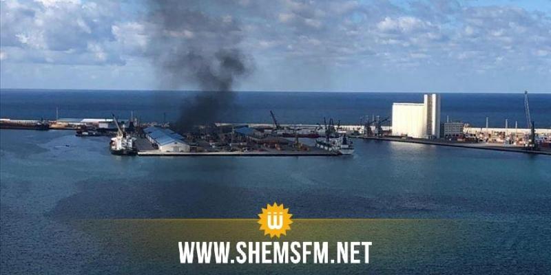 بعد قصف ميناء طرابلس: الحكومة الليبية تعلّق مشاركتها في محادثات جنيف