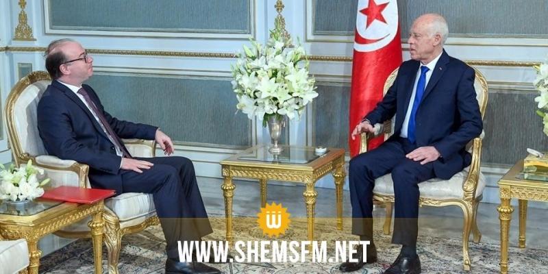 رئيس الجمهورية يلتقي رئيس الحكومة المكلّف