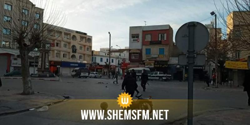 أحداث شغب ومواجهات بين الأمن وجماهير النادي البنزرتي