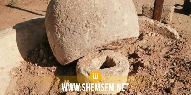 بئر الحفي: تضرر الموقع الأثري الروماني في عملية نبش