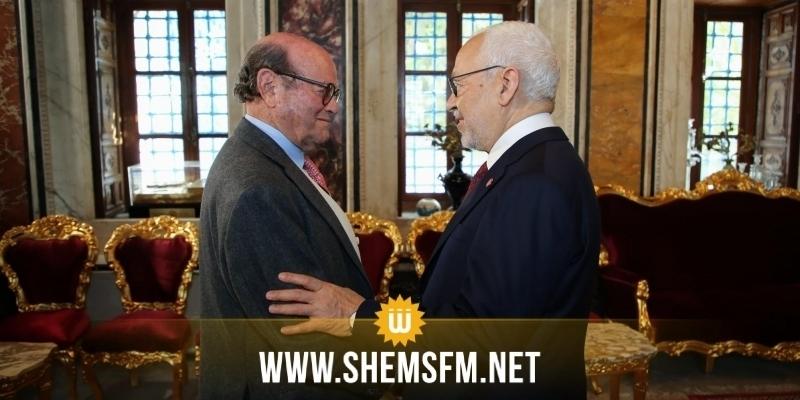Rached Ghanouchi rencontre Sleh eddine Caied Essbssi