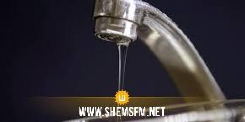 أريانة: انقطاع الماء الصالح للشرب