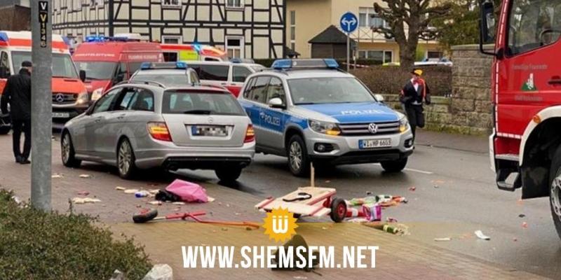 إصابات بحادث دهس استهدف مهرجانا وسط ألمانيا