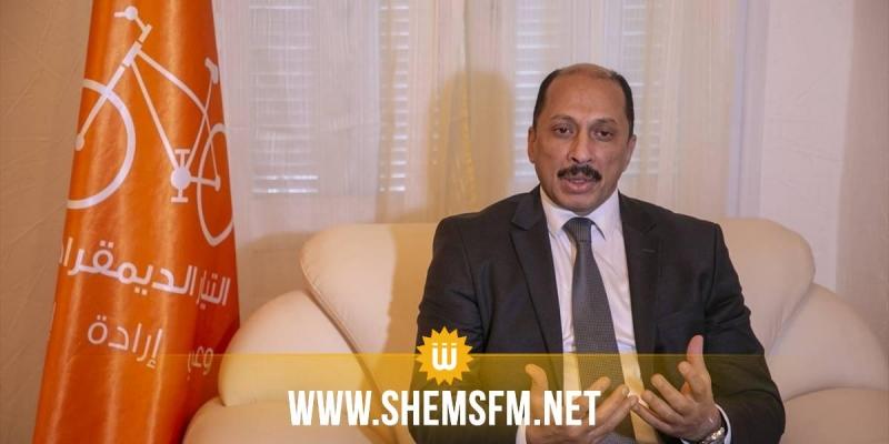 محمد عبو:'تم الاتفاق على الوصول لمرحلة صفر فساد سياسي في الوثيقة التعاقدية'