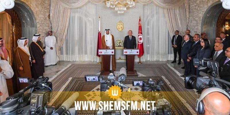 رئيس الجمهورية يُثمن إستعداد أمير قطر المساهمة في إنجاز مشروع أسواق للإنتاج بسيدي بوزيد