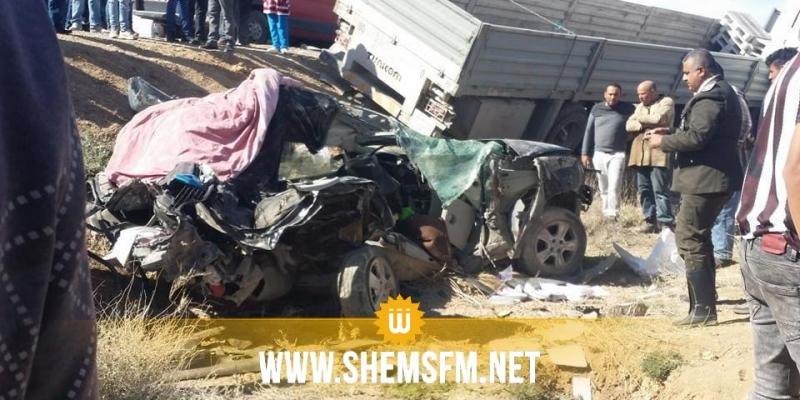 القصرين: وفاة 5 معلمات في حادث مرور
