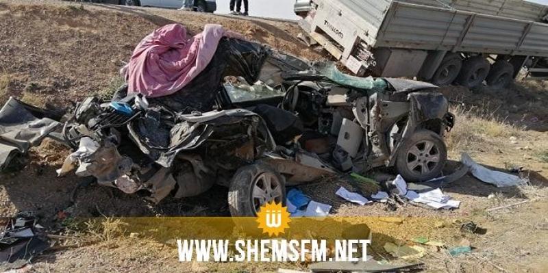 وفاة 5 معلمات في حادث مرور بالقصرين: هويات الضحايا