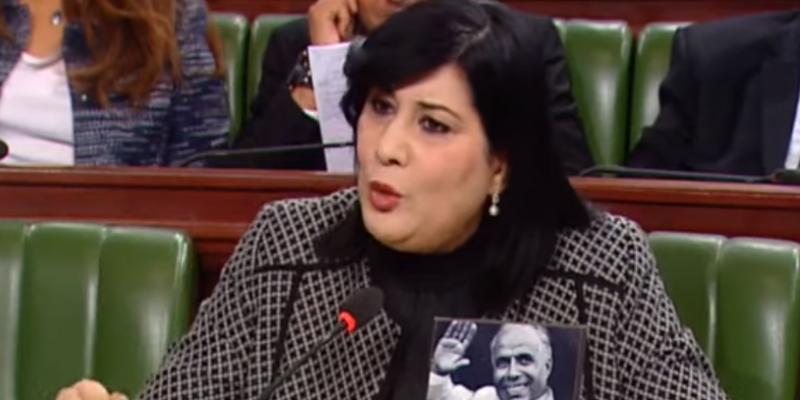 عبير موسي لإلياس الفخفاخ:'جئت لمواصلة تدمير الدولة التونسية وتخريب الإقتصاد'