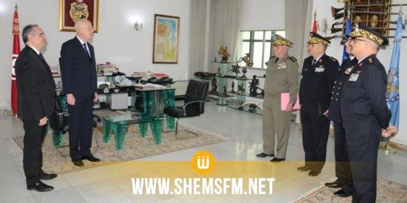 في زيارته لوزارة الدفاع: رئيس الجمهورية يُشيد بالقضاء على إرهابيين بالقصرين