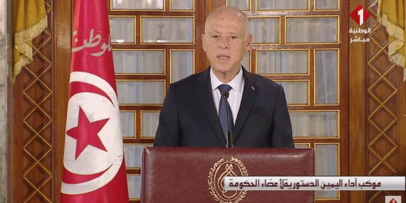 قيس سعيد: 'رئيس الحكومة ليس وزيرا أول ولا كاتب دولة لدى رئاسة الجمهورية'