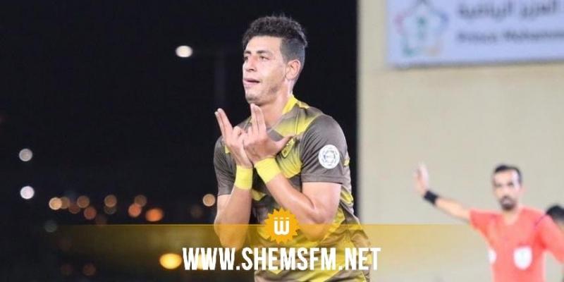 شهاب الزغلامي:'أمنيتي نلبس مريول المنتخب حتى في تربص'