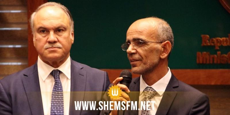 وزير التربية الجديد محمد الحامدي يتسلم مهامه