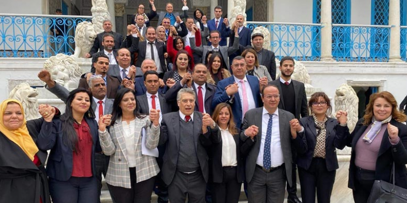 قلب تونس في المعارضة
