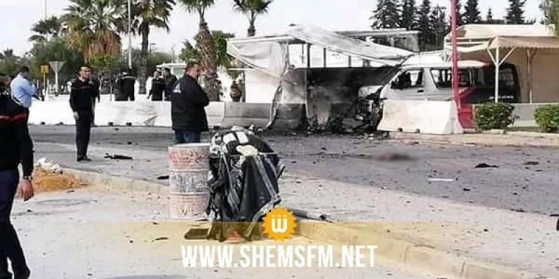 تفجير إنتحاري قرب السفارة الأمريكية بتونس