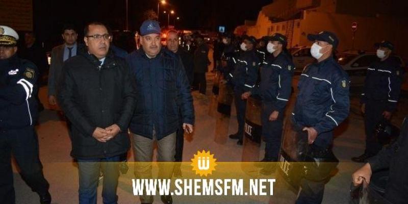 وزير الداخلية يدعو الأمنيين إلى الحرص على التطبيق الصارم للقانون وللإجراءات الإستثنائية
