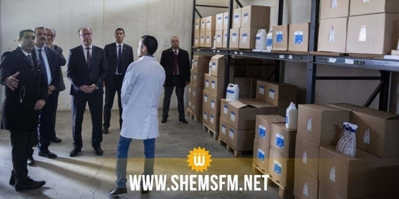 Fakhfakh et Mekki en visite d'inspection au siège de la pharmacie centrale