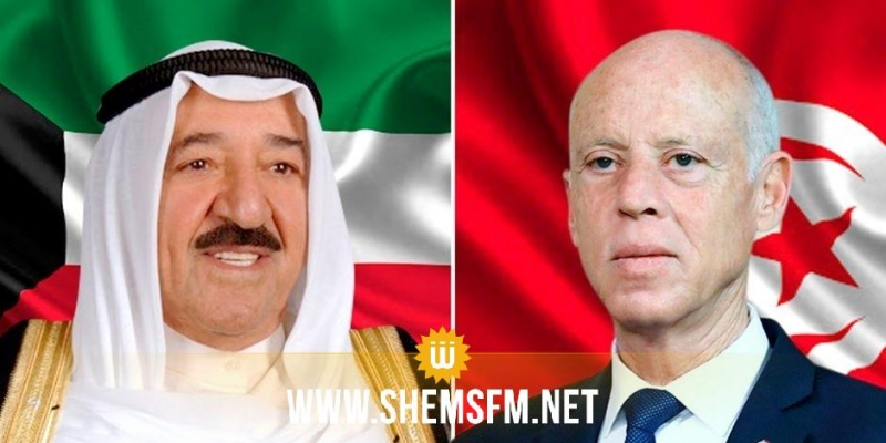 كورونا محور مكالمة هاتفية بين رئيس الجمهورية وأمير الكويت