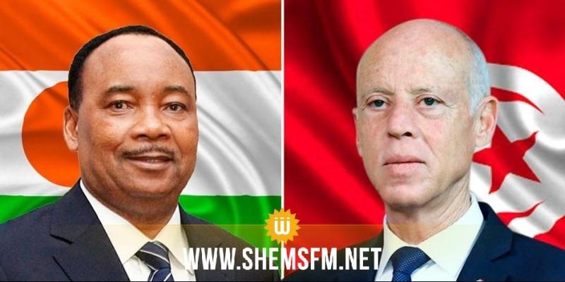 رئيس الجمهورية ورئيس النيجر يؤكدان ضرورة تطوير العلاقة بين البلدين