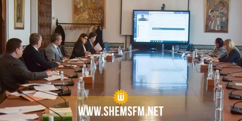 عبر تقنية التواصل : الوفد الحكومي يحضر عن بعد أشغال جلسة لجنة النظام الداخلي بالبرلمان