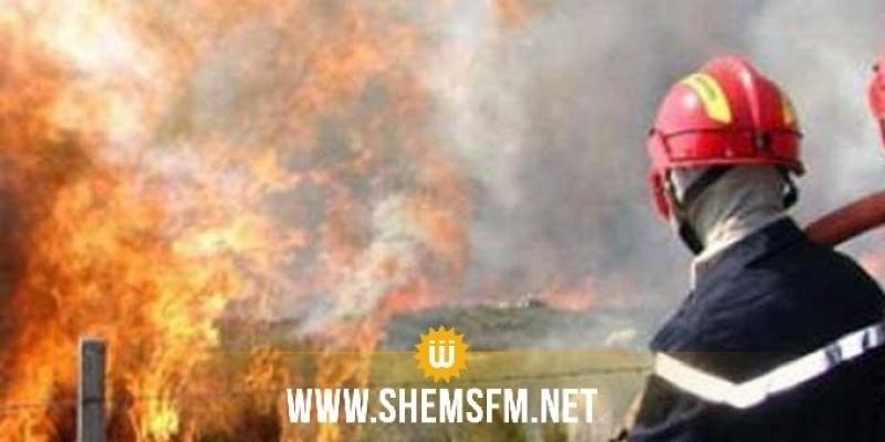 قابس: إخماد حريق بمعمل الامونيتر