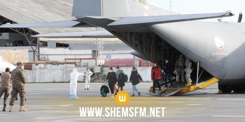 الخارجية تؤكد إجلاء حوالي 7533 تونسيا كانوا عالقين بالخارج