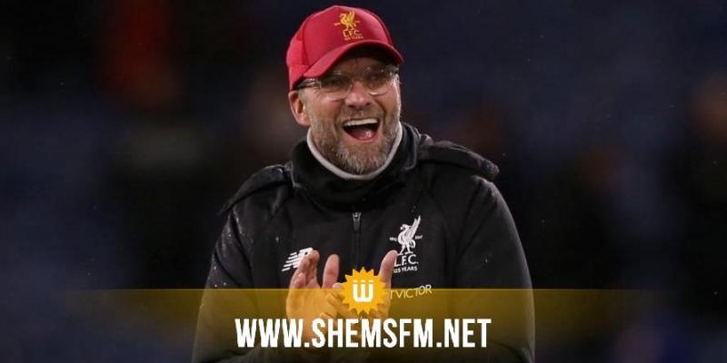 مدرب ليفربول يورغن كلوب يعطي الحل لعودة كرة القدم سريعا