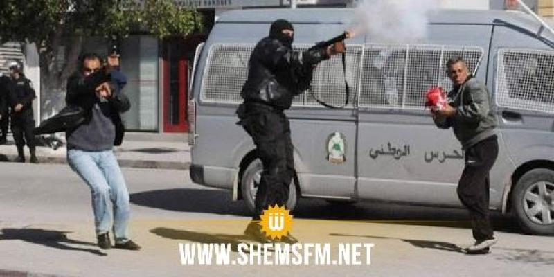 منوبة: الأمن يتدخل لفض أعمال شغب وعنف بين مواطنين من منطقتين