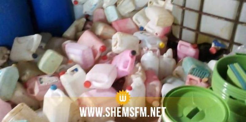 جندوبة: حجز عشرة آلاف لتر من مواد التنظيف في ورشتين عشوائيتين