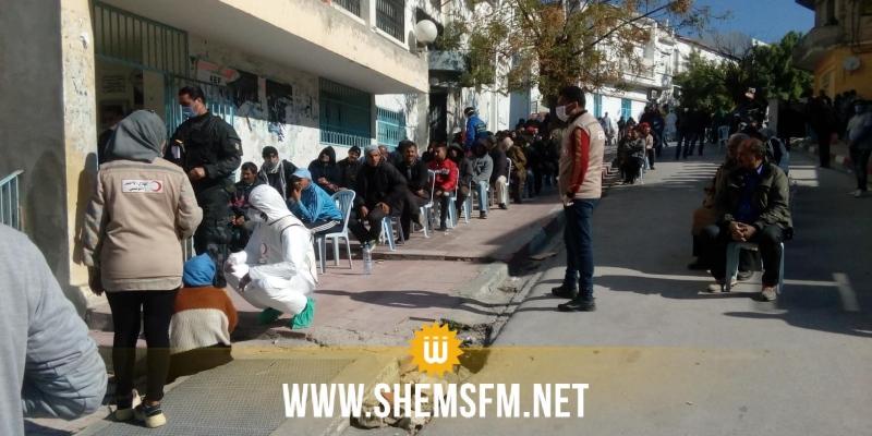 الكاف: المجتمع المدني ينظم يوم تحسيسي ويشرف على تنظيم الطوابير أمام مركز البريد