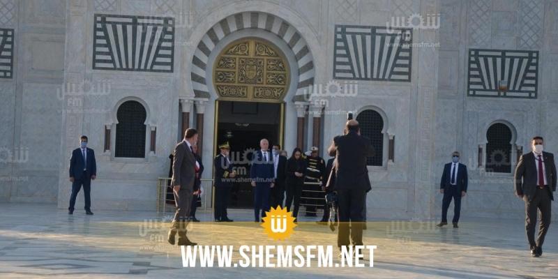 قيس سعيد: 'الحبيب بورقيبة جزء لا يتجزأ من تاريخ تونس والتاريخ لا يرحم'