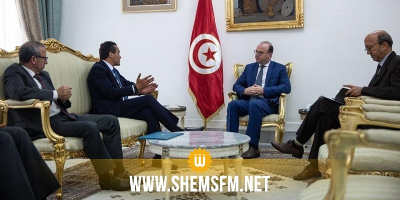 رئيس الحكومة يلتقي مدير عام بورصة تونس ورئيس مجلس إدارتها