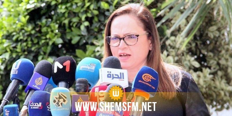 نصاف بن علية  تؤكد  وفاة إمرأة مصابة بكورونا اليوم