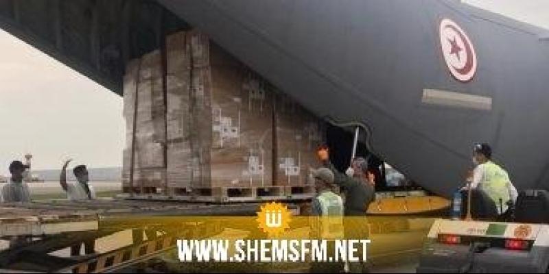 Equipements médicaux : l'avion militaire est arrivé ce matin à l'aéroport de Hong Kong (Photos)