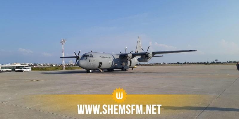 قادمة من الصين: وصول الطائرة العسكرية مُحملة بالمستلزمات الطبية