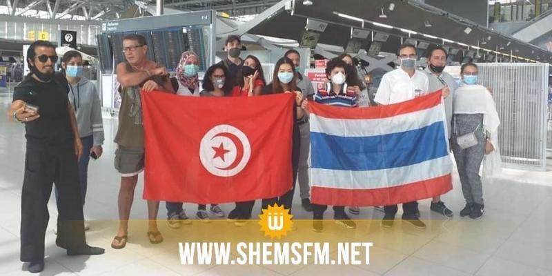 طائرة عسكرية تجلي عدد من الطلبة التايلانديين لتعود بتونسيين عالقين في الفيتنام والهند وتايلاند