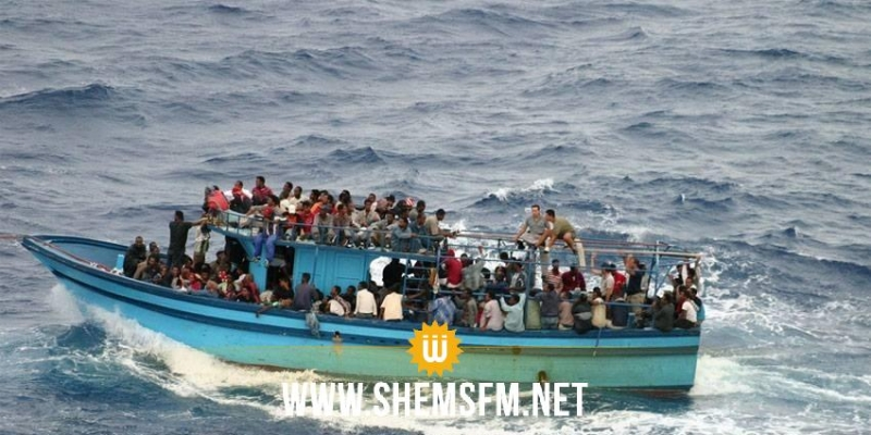 صاحب المركب قام بإلقاء البعض منهم ف البحر لتخفيف الحمولة: احباط عملية حرقة