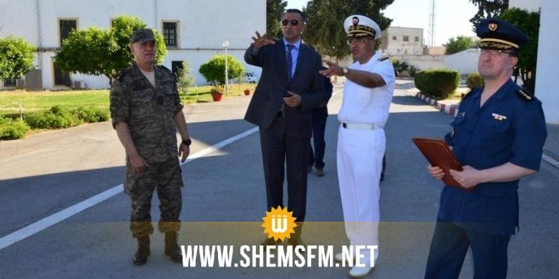 وزير الدفاع الوطني يزور القاعدة العسكريّة ببرطال حيدر