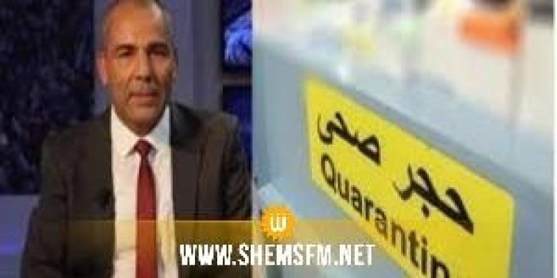 محمد الرابحي رئيس لجنة الحجر الصحي ضيف الماتينال