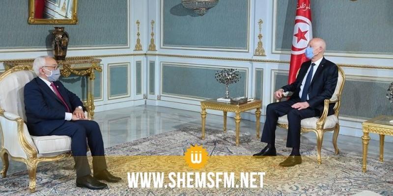 ''القضايا الإقليمية الراهنة'' محور لقاء قيس سعيد براشد الغنوشي