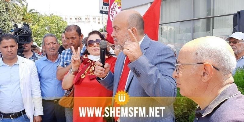 Place de Bardo : Me Ben Hlima annonce la suspension du sit-in jusqu'à la fin du confinement