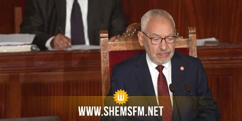 الغنوشي يدعو ''لتهدئة والتوافق والتضامن ورص الصفوف لمصلحة تونس''