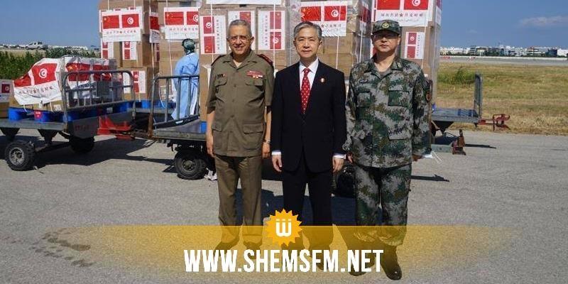 تسلمتها وزارة الدفاع: الصين تتبرع بمواد طبية لتونس