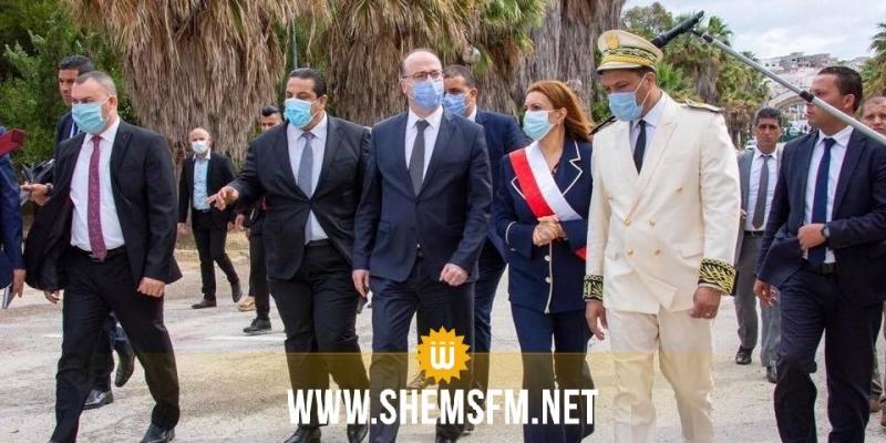بمناسبة اليوم الوطني والعالمي للبيئة : رئيس الحكومة يؤدي زيارة الى منتزه المروج