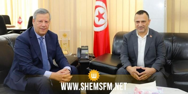 حمدي المدب في ضيافة وزير الشباب والرياضة