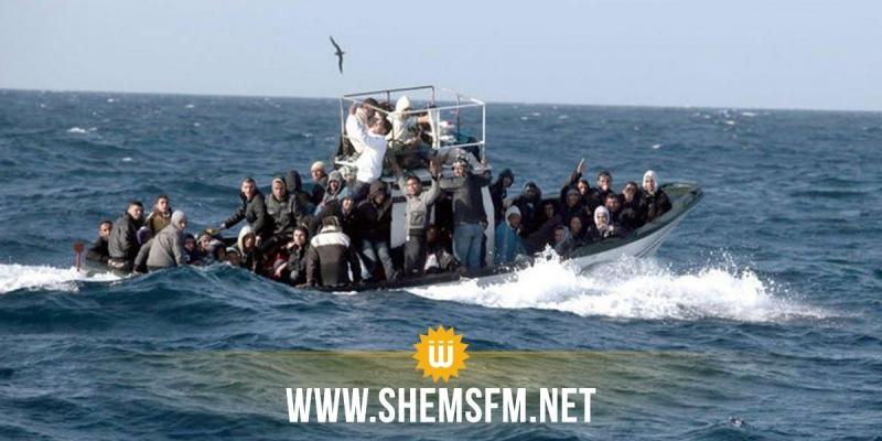 بكامل تراب الجمهورية: إحباط  تسع عمليات هجرة غير نظامية وضبط 200 مجتاز