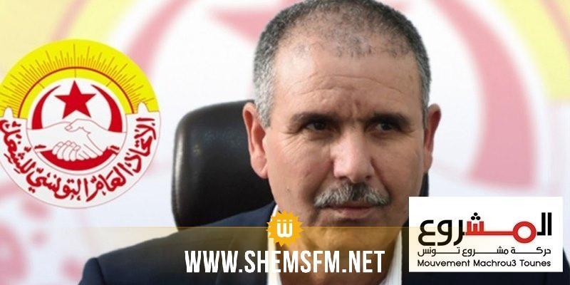 حركة مشروع تونس تندد ب ''اللتهديدات المشينة '' ضد الطبوبي