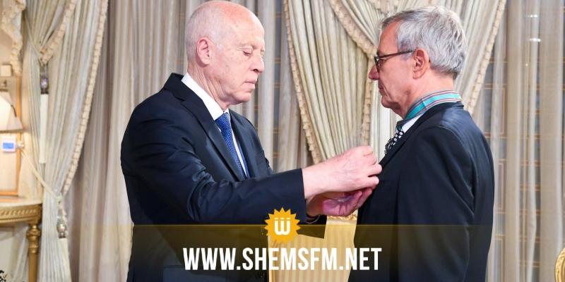 رئيس الدولة يمنح السّفير الألماني الصنف الأول من وسام الجمهورية