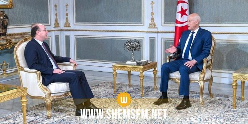 علاقات تونس الدولية وخطة الإنقاذ الاقتصادي محور لقاء سعيّد بالفخفاخ