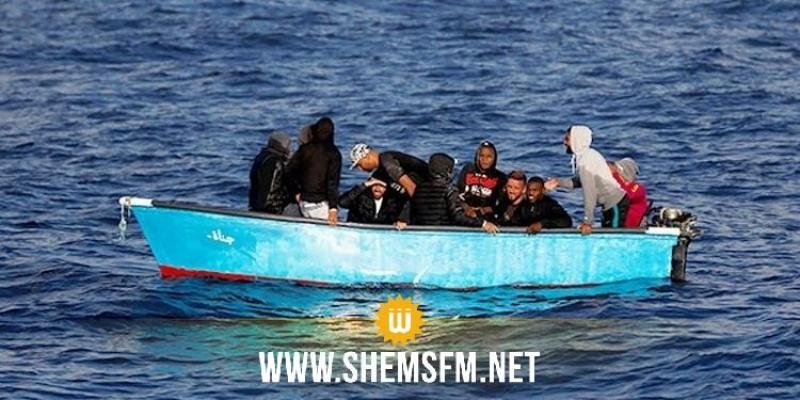 بنزرت: إيقاف 7 شبان بصدد إجتياز الحدود البحرية خلسة